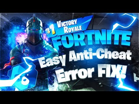 Fortnite Easy Anti-Cheat Error Fix -[2 Solutions] Chapter 2 Season 2