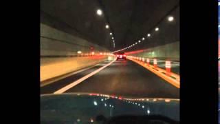 舞鶴若狭自動車道 敦賀JCT→小浜IC 7月20日(日)夜
