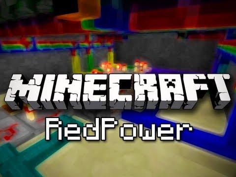 Minecraft Mods: RedPower Mod - Redstone Made Awesome