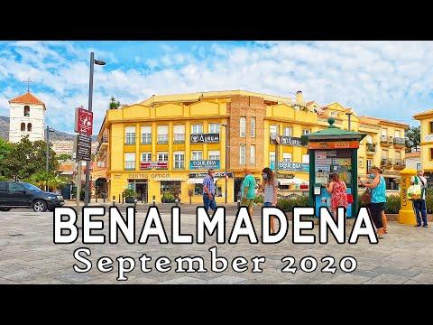 Benalmadena Town - Walking Tour In September 2020, Malaga, Spain