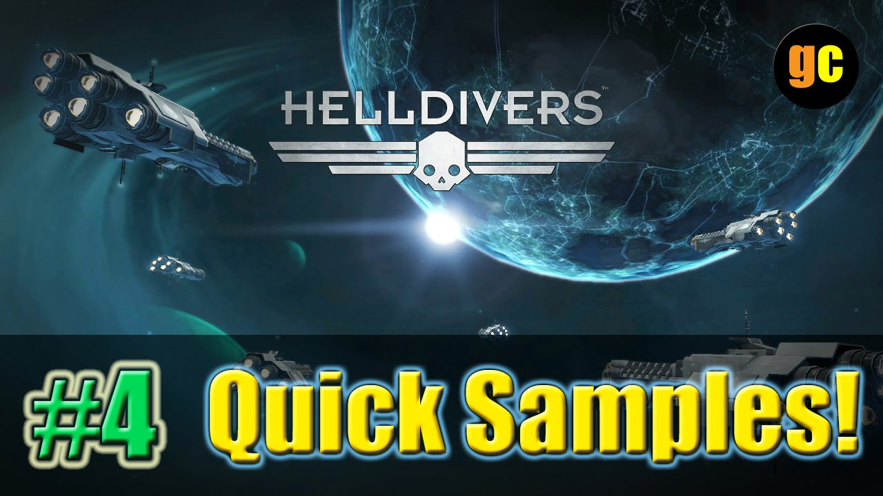 Helldivers PS4 - Easy Samples Farming / 60-70 Per Hour - YouTube