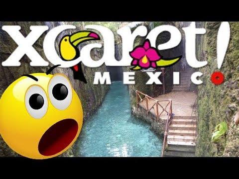 Parque Xcaret Cancun Mexico Parte 1 Parque Xcaret Videos