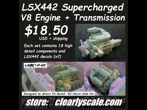 Clearly Scale LSX442 Resin Engine Review & Thoughts