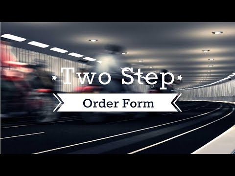 How To Take Payments Online With A Two Step Order Form