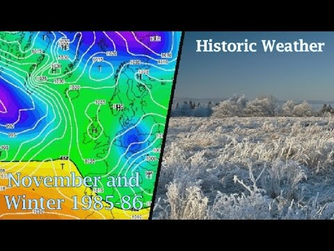 Historic Weather - November and Winter 1985-86