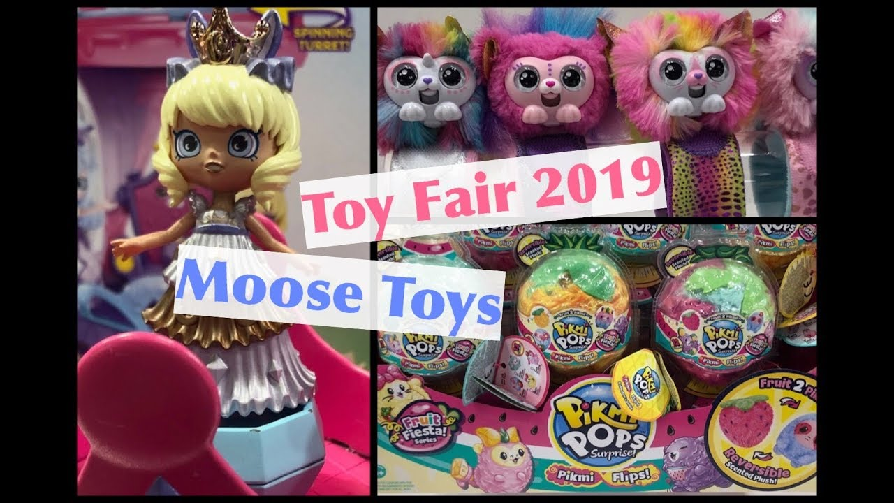 Toy Fair 2019 Moose Toys New Wrapples Happy Places
