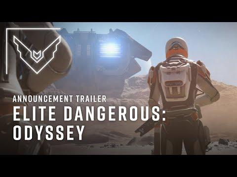 Elite Dangerous: Odyssey | Announcement Trailer