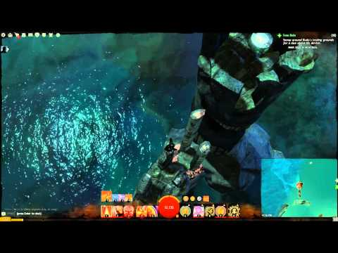 Guild Wars 2 - Drowned Brine Southwest Vista Point (Malchor's Leap) (PC)