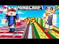 SZALONY WYŚCIG! - POLSKA VS SENEGAL LUCKY BLOCKI MINECRAFT! (Lucky Block Race) | Vito vs Bella