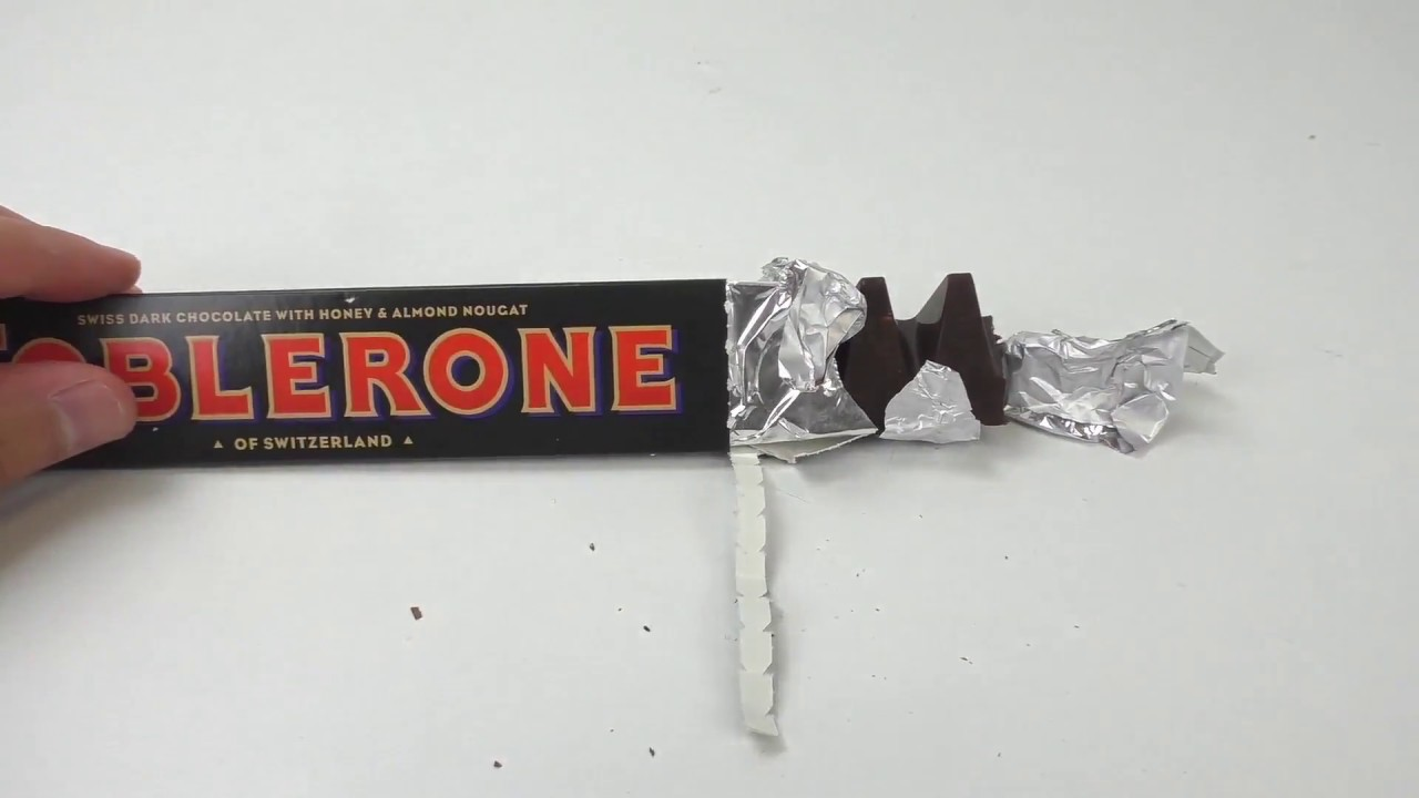 Toblerone Dark Chocolate Honey Super Bitter Dark Chocolate Sweets Test
