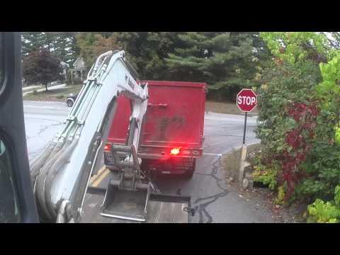 F650 Towing Mini Excavator
