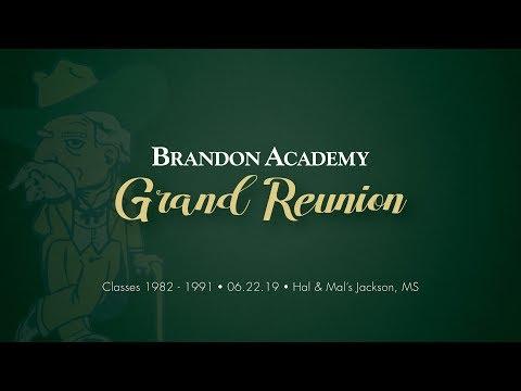 Brandon Academy Reunion
