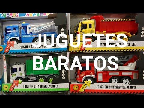 CAMIONES DE JUGUETE BARATOS PARA NIÑOS | Toy Trucks For Kids