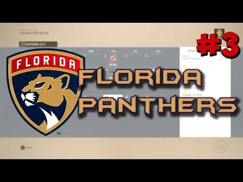"NHL 17: Franchise Mode | Florida Panthers #3 ""Simulation"""