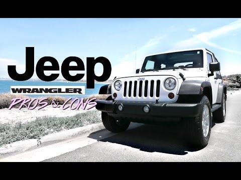 Jeep Wrangler Pros & Cons
