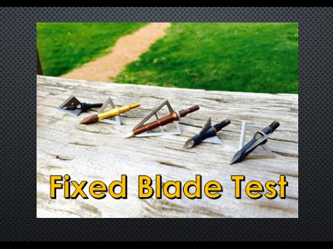 Broadhead Penetration Test 101