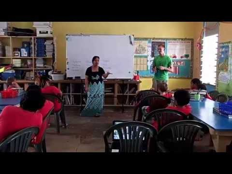 3R Lesson @ Coop Elementary school in Marshall Islands