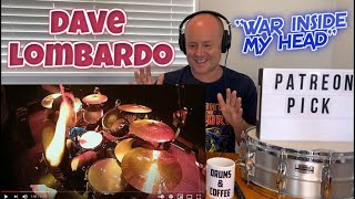 Drummer Reaction: DAVE LOMBARDO   ''War Inside My Head'' (2021 Reaction)