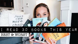 Best & worst books i read this year ...