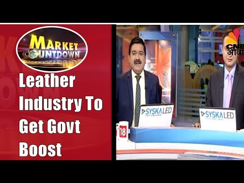 Leather Industry To Get 2500Cr Package From Govt | Market Countdown | 22nd Nov | CNBC Awaaz