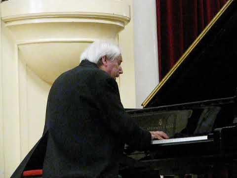 Григорий Соколов - Бах  Хоральная прелюдия  фа минор  BWV 639