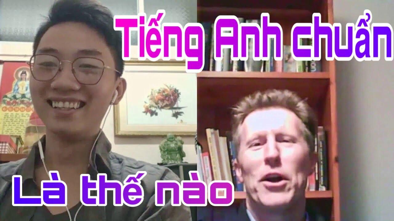 """Tiếng Anh """"chuẩn"""" là gì? Cùng Brian Cox và Nin Toph tìm hiểu nha!"""