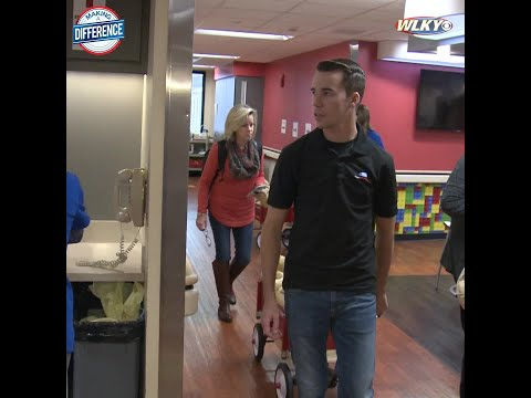 NewsRadio 840 WHAS Local News - Local NASCAR Truck Driver Visits Hospitalized Kids