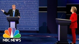 Put-Downs And Comebacks: The Best Zingers From Donald Trump And Hillary Clinton | NBC News