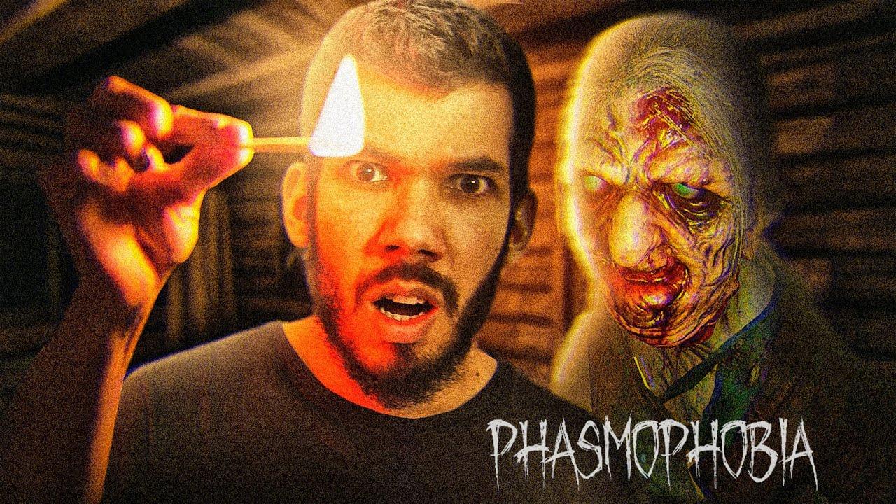 Phasmophobia no Profissional - NOVA ATUALIZAÇÃO COM FANTASMAS MAIS AGRESSIVOS!
