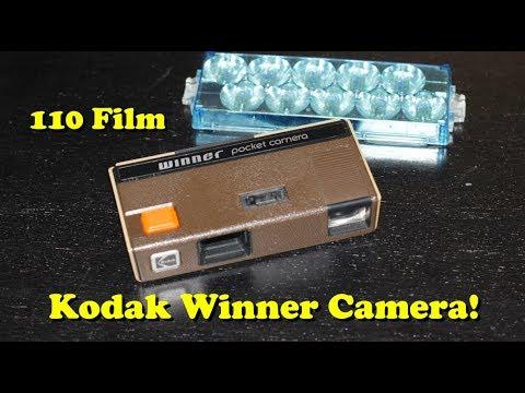 110 Film - Kodak Winner Pocket Camera