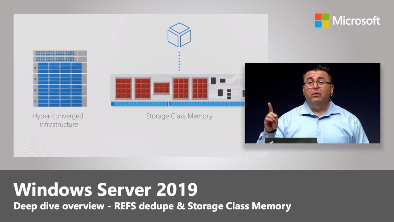 Windows Server 2019 deep dive | Ignite 18