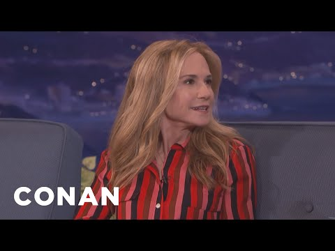 Holly Hunter: Ray Romano & Kumail Nanjiani Are Beautiful Actors  - CONAN on TBS