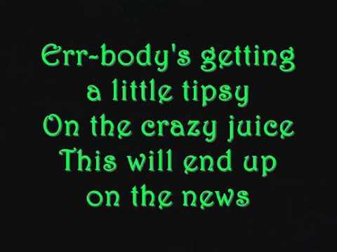 Rihanna Who's that Chick (Lyrics on Screen)