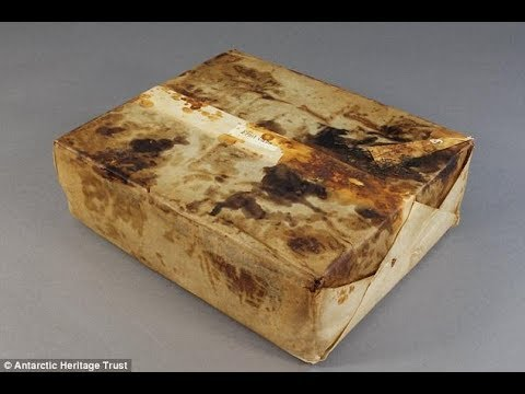 106-year old fruitcake is found 'perfectly preserved' in Antarctica