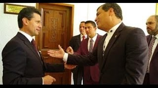 Enrique Peña Nieto es dejado en ridículo por Rafael Correa en Publico |