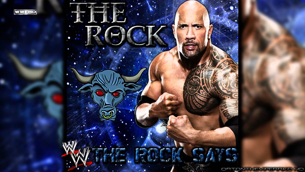 The rock theme songs 1996-2011 youtube.