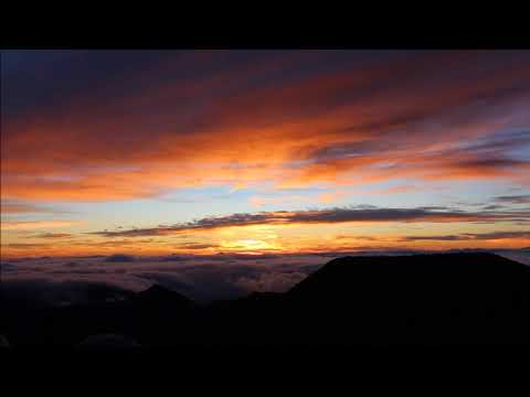 Haleakalā National Park Sunrise Time Lapse