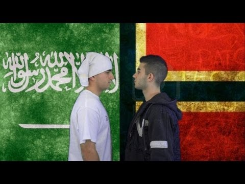 Norway vs. Saudi Arabia | Immortal Rap Battles Of Nations #1