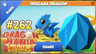 Origami Dragon Hatching + Level 6 Continued! - Dragon Mania Legends #262
