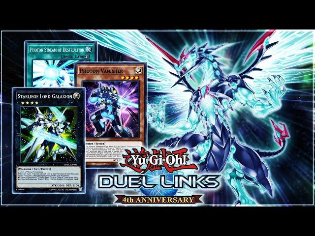 Yu-Gi-Oh! Duel Links | NEW GALAXY-EYES PHOTON DRAGON Deck ft. Vanisher & Galaxion (Photon of Galaxy)