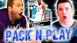 NBA 2K17 1000 DOLLAR PACK N PLAY WAGER VS TROYDAN | 97 KEVIN DURANT PULLED!!!