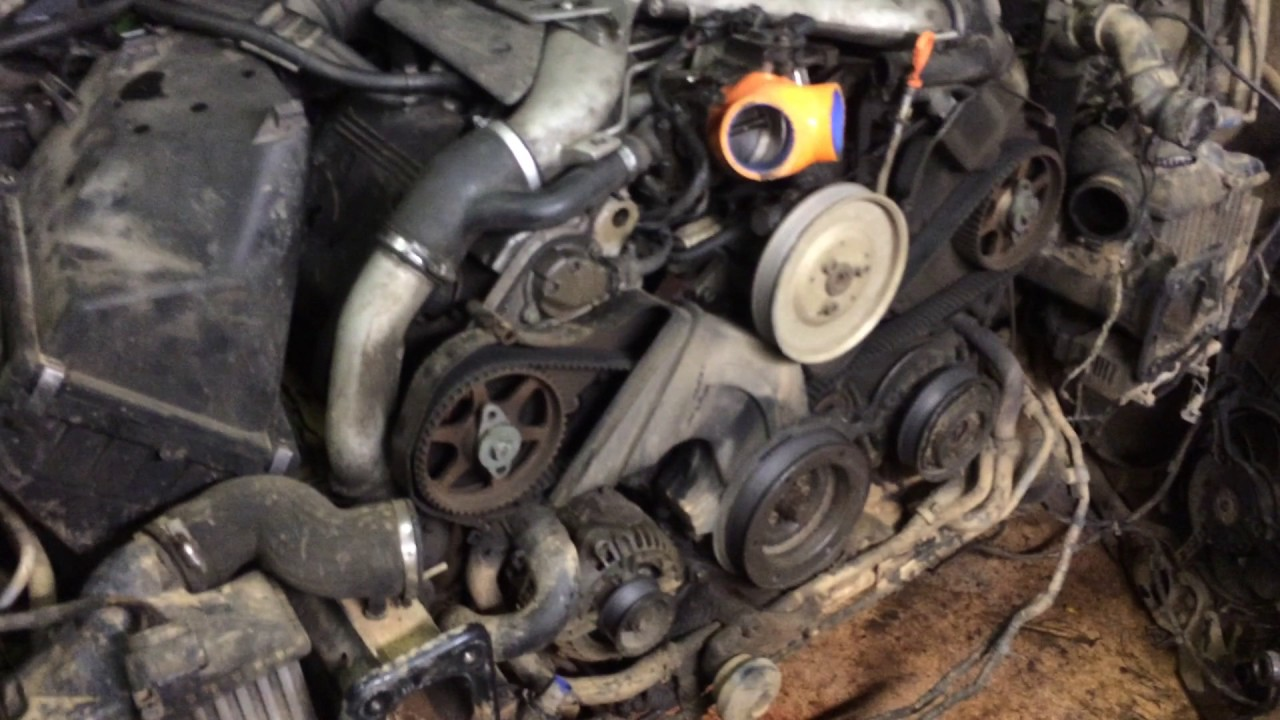 Мунуал замена ГРМ  бортжурнал Audi Allroad 27 biТ