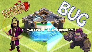 BUG del CASTELLO DEL CLAN | Clash of clans ITA