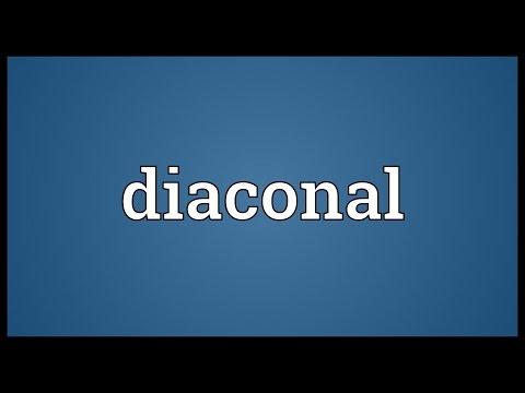 Header of diaconal