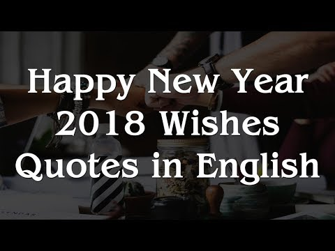 Happy New Year 40 Wishes Quotes In English YouTube Custom Happy New Year Quotes In English