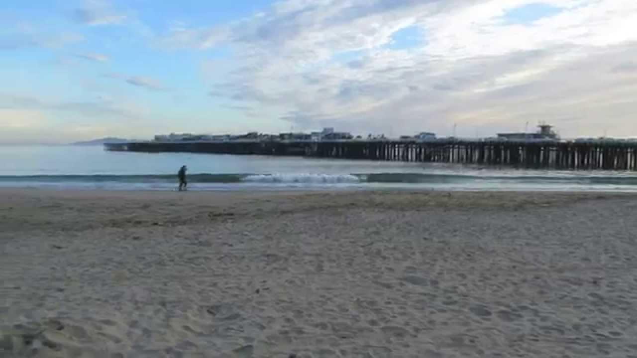 Santa Cruz Main Beach Ca 360 Degree View