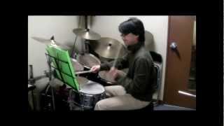 COZYドラムコース第4期のトリプレッツ(3連)ビートの課題曲です。Tears...