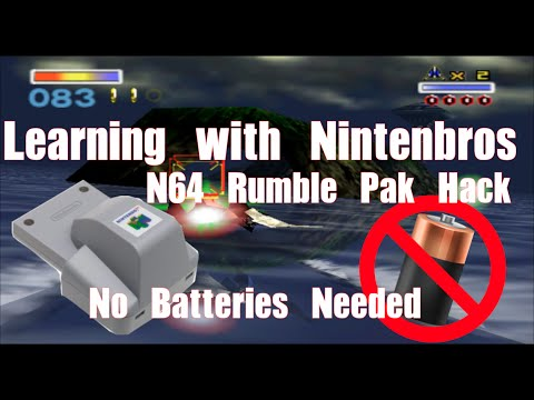 nintendo 64 accessories - Can an official N64 Rumble Pak be