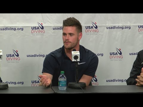 David Boudia making a fourth Olympic run
