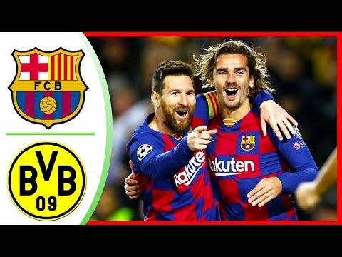 Fc Barcelona Vs Borussia Dortmund 3-1 Uefa Champions League Matchday  Exclusive Highlights 28/11/19